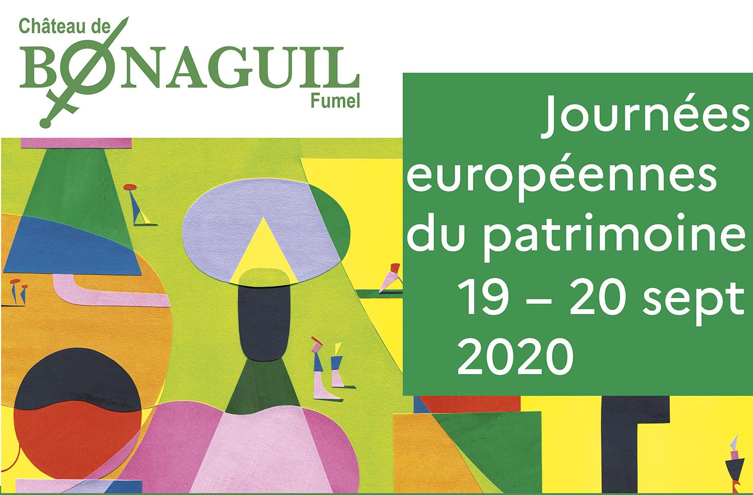 Journées européennes du Patrimoine au château de Bonaguil