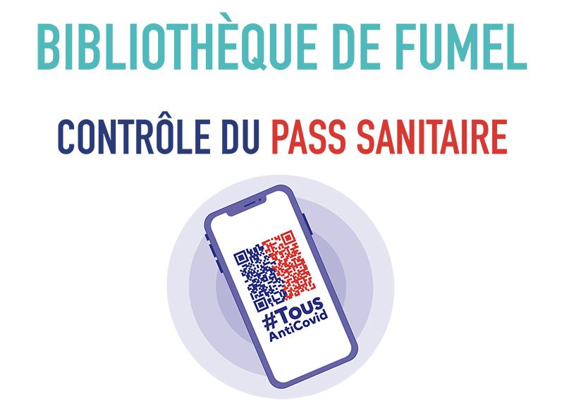 Bibliothèque : Pass sanitaire obligatoire